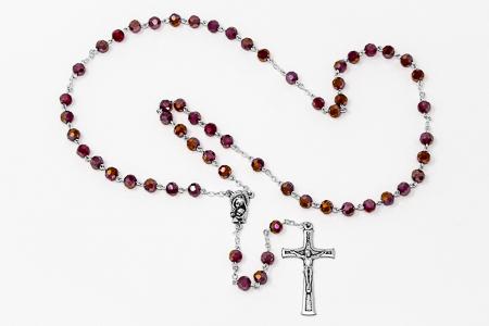 Mary & Baby Jesus Rosary Beads.
