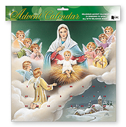 Angel Advent Calendar.