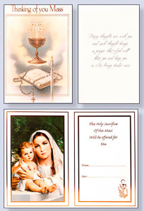 Thinking of You Mass Card.