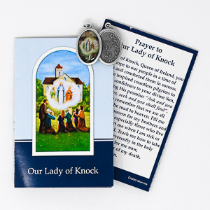 Medal Our Lady of Knock.