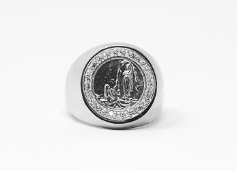 Men's Lourdes Adjustable Ring.