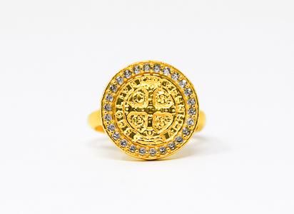 Men's St Benedict Ring.