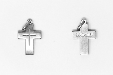 Men's Sterling Silver Cross.