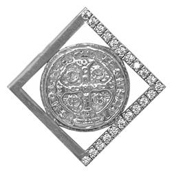 Men's St Benedict Pendant.