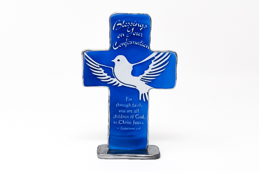Art Metal Confirmation Cross.