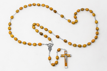 Miraculous Olive Wood Rosary.