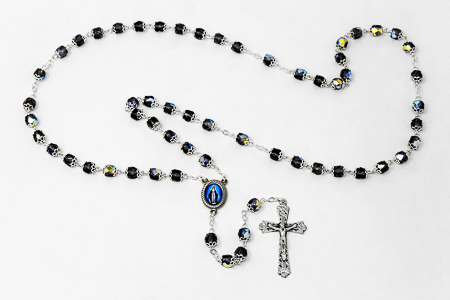 Miraculous Crystal Rosary Beads.