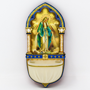 Miraculous Luminous Holy Water Font.