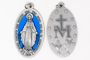 Large Enamel Miraculous Medal.