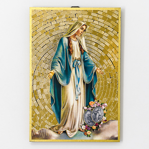 Miraculous Mosaic Wall Plaque.