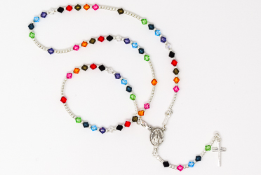 Miraculous Swarovski Rosary Necklace.