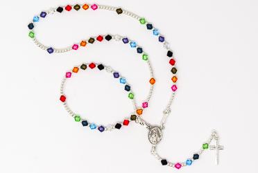 Miraculous Swarovski Rosary Necklace.