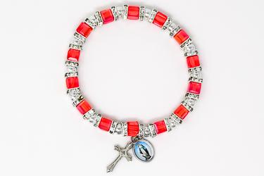 Red Crystal Miraculous Bracelet.