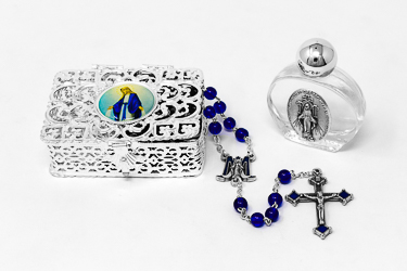 Miraculous Rosary Rosary Gift Set.