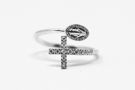 Miraculous Medal Ring.