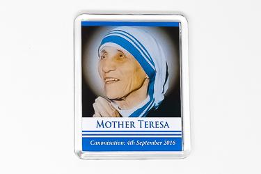Mother Teresa Souvenirs Fridge Magnet.