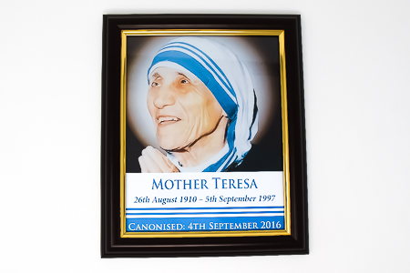 St Teresa of Calcutta Framed Picture.