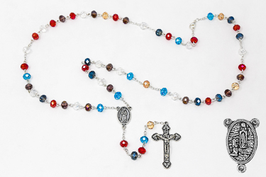 Multicolor Crystal Rosary Beads