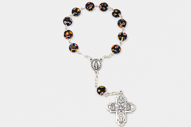 8 Way Miraculous Medal Rosary.