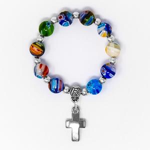 Murano Glass Rosary Ring.