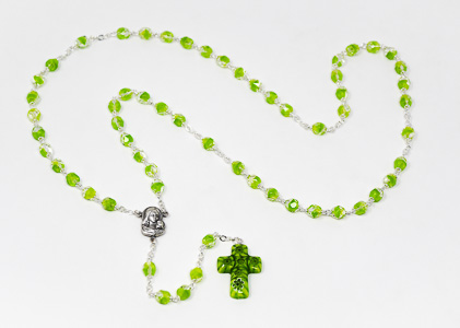 Murano Glass Rosary Beads.