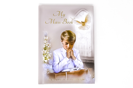 Confirmation Book for a Boy.