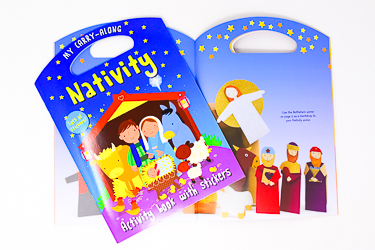 Christmas Nativity Book.