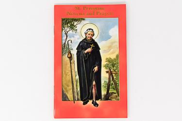Saint Peregrine Prayers Booklet.