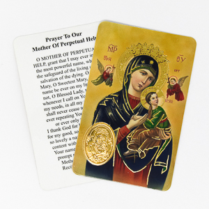 Novena to Our Lady of Perpetual Help.