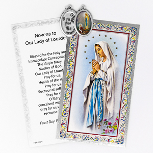 Novena To Our Lady with Medal.
