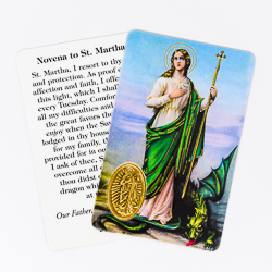 Novena to Saint Martha.