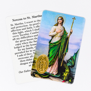 Novena to Saint Martha.