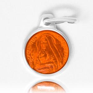Orange Bernadette Pendant.