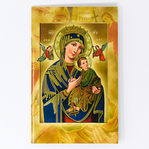 Our Lady of Perpetual Help Novena & Prayers Book.