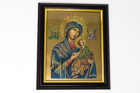 Our Lady of Perpetual Help Framed Picture.