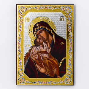 Virgin Mary With Holy Child Wall Plaque.