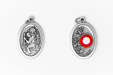 Saint Christopher Relic Medal.
