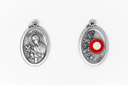 Saint Gerard Relic Medal.