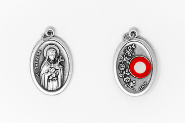 Saint Theresa Relic Medal.