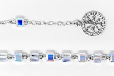Pax Swarovski Rosary Bracelet