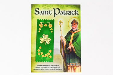 St.Patrick's Day Shamrock Badge.