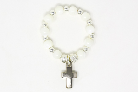 Pearl Rosary Ring.