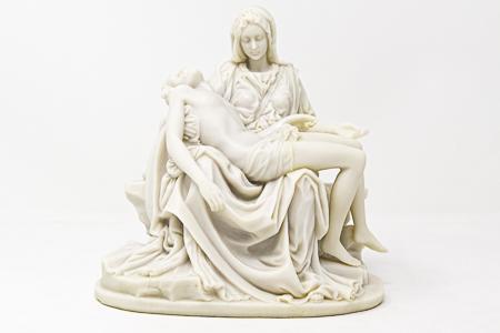 Pieta statue.