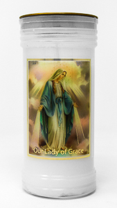 Pillar Candle - Miraculous