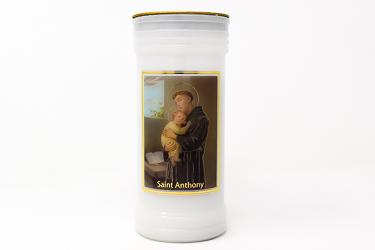 Pillar Candle -  Saint Anthony