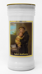 Pillar Candle -  Saint Anthony