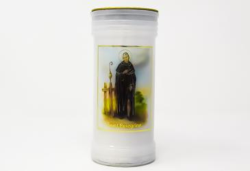 Saint Peregrine Pillar Candle.