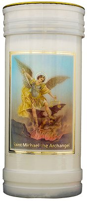 Pillar Candle - St.Michael the Archangel