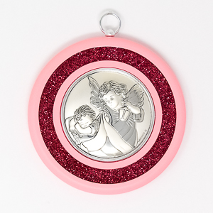 Guardian Angel Baby Crib Medal