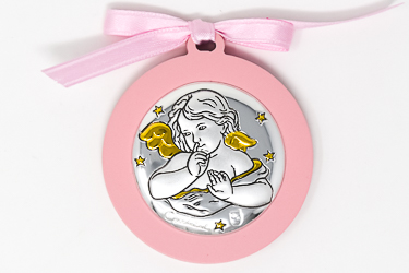 Angel Baby Crib Medal